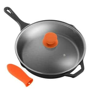 Ecolution Farmhouse 11 In Cast Iron Frying Pan In Black Eobk 5128 The Home Depot