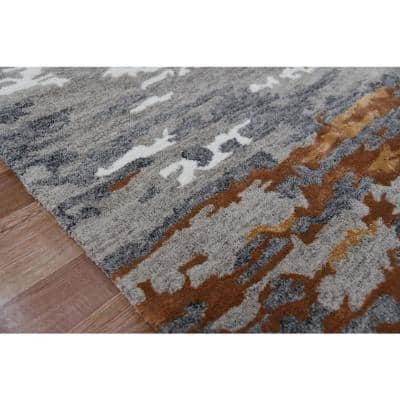 Orange 9 X 13 Area Rugs Rugs The Home Depot