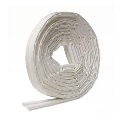 3/8 in. x 5/16 in. x 20 ft. White Weatherseal