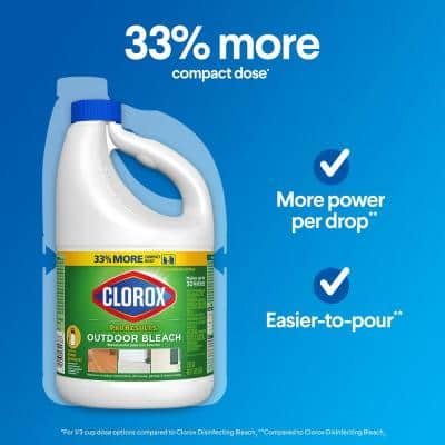 81 oz. Pro Results Concentrated Liquid Outdoor Bleach Cleaner