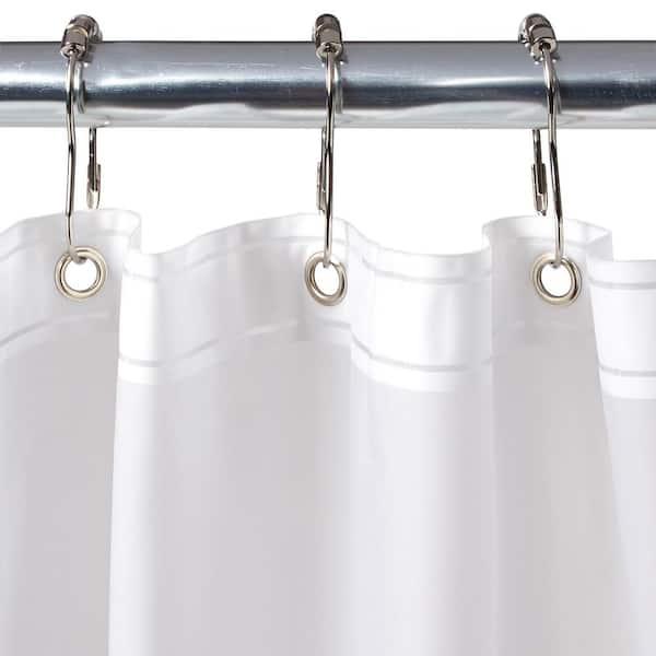 Interdesign Eva Extra Wide Shower, Wide Shower Curtain