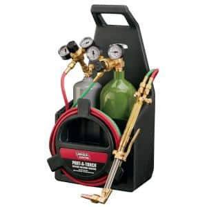 Port-A-Torch Kit with Oxygen and Acetylene Tanks and 3/16 in. x 12 ft. Hose, for Cutting Welding and Brazing