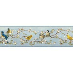 Vandalia Sky Songbird Sky Wallpaper Border