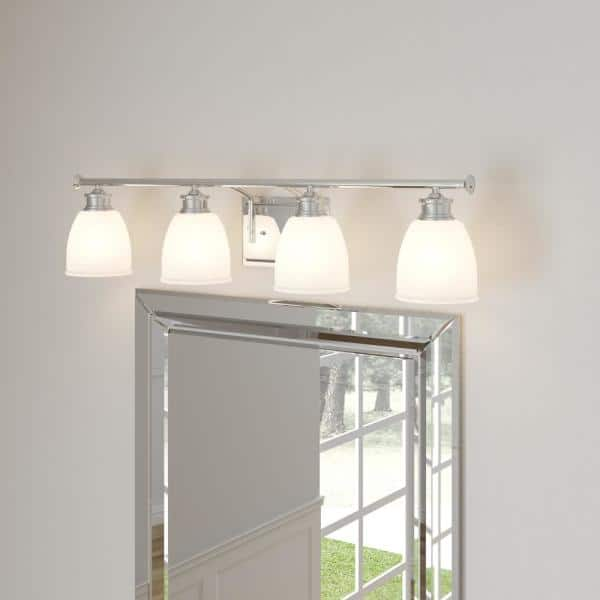 Progress Lighting Lucky Collection 33, Replacement Glass Shades For Bathroom Light Fixtures