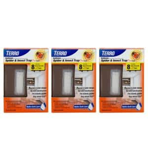 Refillable Spider and Insect Trap Plus Lure (6-Count)