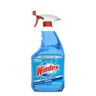 32 oz. Commercial Line Trigger Bottle Original Glass Cleaner