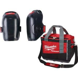 Flexible Knee Pads with PACKOUT Tool Bag