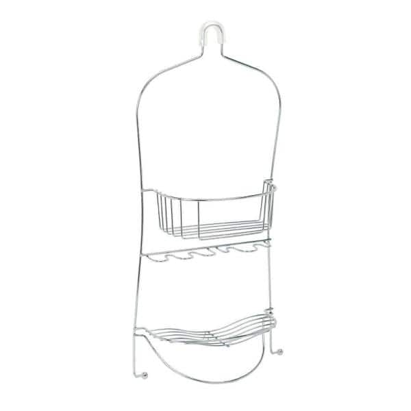 Zenna Home Over-the-Showerhead Caddy in Chrome