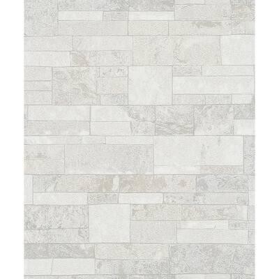 Hernando White Stones Strippable Sample Covers 0.56 sq. ft.