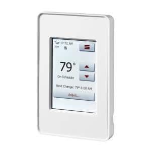 120-Volt/240-Volt Programmable WIFI Enabled Smart Touch Thermostat with Floor Sensor