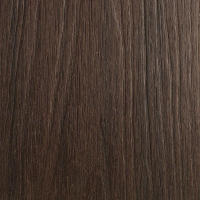 UltraShield Naturale Voyager Series 1 in. x 6 in. x 1 ft. Spanish Walnut Hollow Composite Decking Board Sample