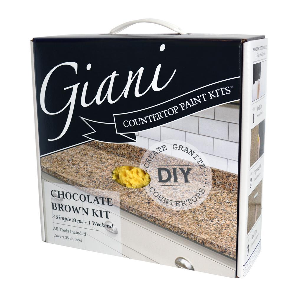 Chocolate Brown Countertop Paint Kit