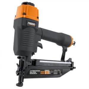 Pneumatic 16-Gauge 2-1/2 in. Straight Finish Nailer with Nails (200-Count)