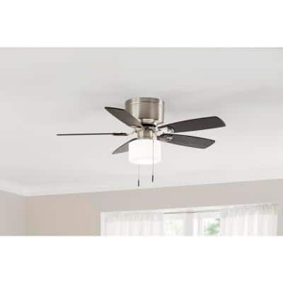 Bellina 42 in. Brushed Nickel Ceiling Fan with Light Kit