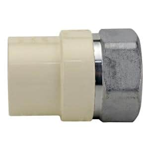 1 in. x 1 in. CPVC CTS Slip Stainless Steel FPT Adapter