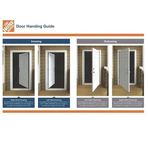 Jeld Wen 36 In X 80 In 6 Panel Unfinished Dutch Left Hand Inswing Wood Prehung Back Door W Brickmould O11688 The Home Depot