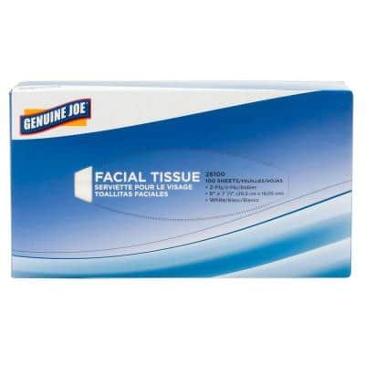 Facial Tissue 2-Ply (100-Count)