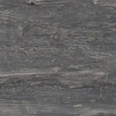 SAMPLE - 6 in. x 6 in. Riverwood Aged Ash Endurathane Faux Wood Ceiling Beam Material