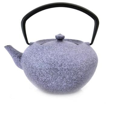 Studio 5.6-Cup Cast Iron Purple Teapot