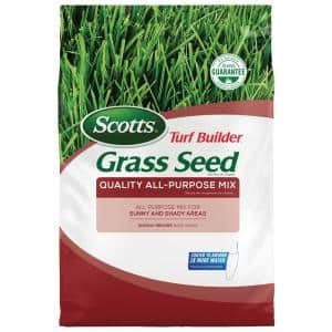 20 lbs. Turf Builder Grass Seed Quality All-Purpose Mix