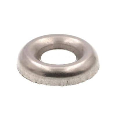 #12 Grade 18-8 Stainless Steel Countersunk Finishing Washers (100-Pack)