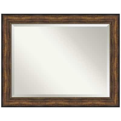 Ballroom Bronze 47.5 in. x 37.5 in. Bathroom Vanity Mirror
