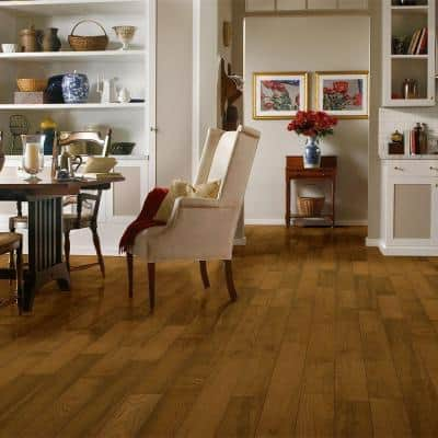 Plano Oak Saddle 3/4 in. Thick x 5 in. Wide x Varying Length Solid Hardwood Flooring (23.5 sq. ft. / case)
