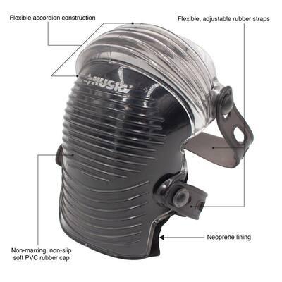 Soft Cap Gel Flexible Knee Pad (1-pair)