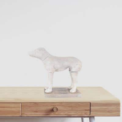 Dahlia Abstract Dog Statue