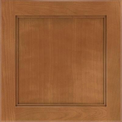 Cabbott 14 1/2 x 14 1/2 in. Cabinet Door Sample in Macaroon