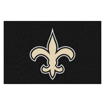NFL - New Orleans Saints Rug - 19in. x 30in.