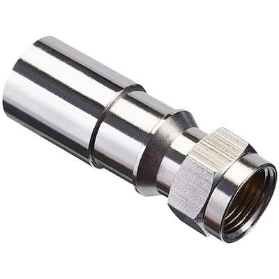 RG6/6Q F Compression Connector RTQ XR (1000 per Box)
