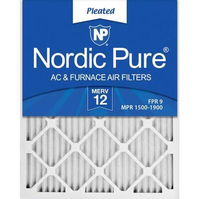 16 x 30 x 1 Allergen Pleated MERV 12 - FPR 9 Air Filters (6-Pack)