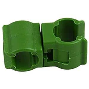 1/4 in. Garden Stake Connector Clips (10-Pack)