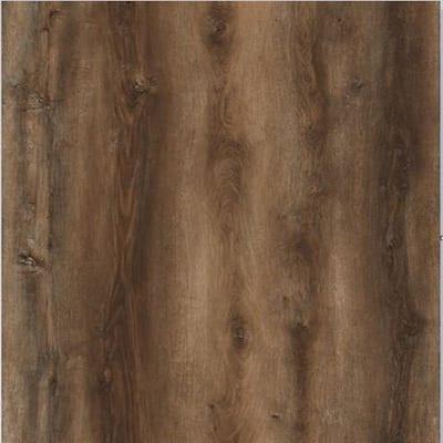 Continental Carbon Oak 7.1 in. W x 48 in. L x 5 mm T Luxury Vinyl Plank Flooring (23.64 sq. ft./Case)