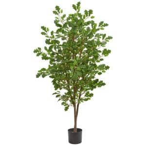 Indoor 5 in. Oak Artificial Tree