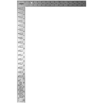 16 in. x 24 in. Professional Easy-Read Steel Framing Square