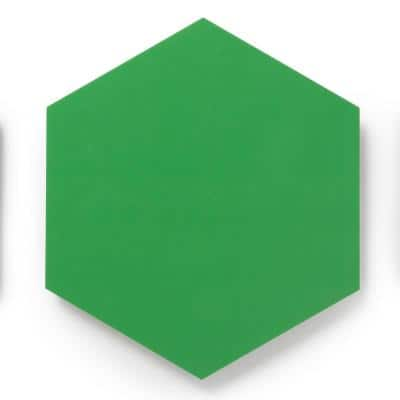 MosaiCore Sprout Hex 8.2 in. x 10.375 in. Glue Down Luxury Vinyl Tile (12.25 sq. ft./Case)