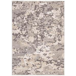 Spirit Taupe/Gray 5 ft. x 8 ft. Area Rug