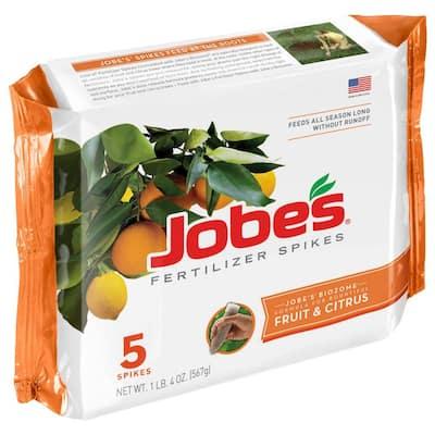 Fruit and Citrus Tree Fertilizer Spikes (5-Pack)