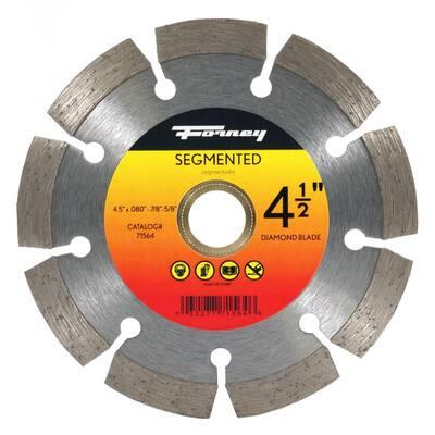 4-1/2 in. Segmented Diamond Cut-Off Blade