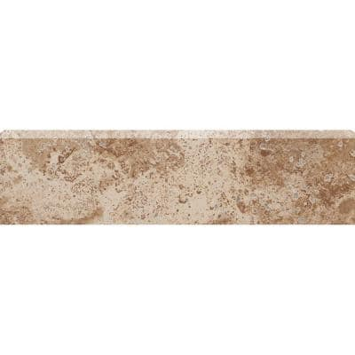 Montagna Cortina 3 in. x 12 in. Porcelain Bullnose Floor and Wall Tile (0.25 sq. ft. / piece)