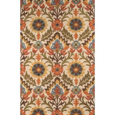 Tangier Gold 10 ft. x 14 ft. Indoor Area Rug