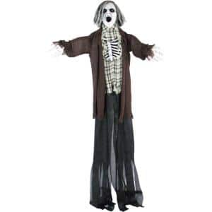 78 in. Touch Activated Animatronic Zombie
