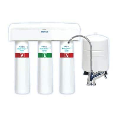 Redi-Twist 3-Stage Reverse Osmosis Drinking Water Filtration System