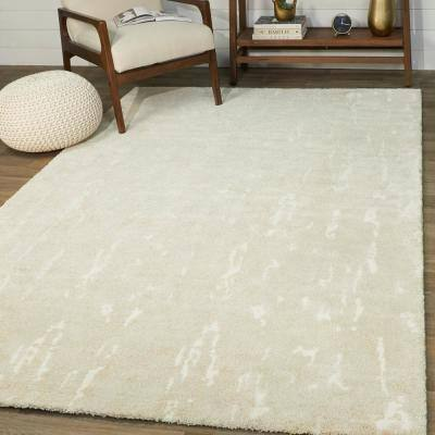 Maxwell Beige 8 ft. x 10 ft. Abstract Area Rug