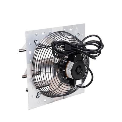 650 CFM Shutter Exhaust Fan Wall Mounted