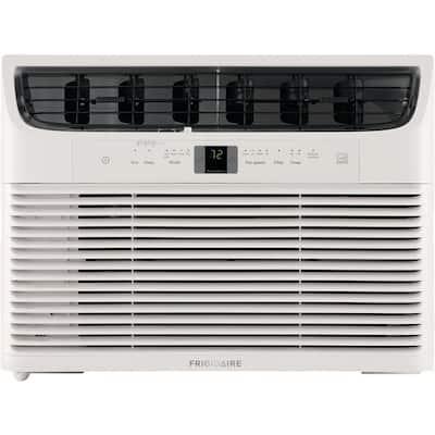 15,000 BTU 115-Volt Window-Mounted Median Air Conditioner with Temperature Sensing Remote Control