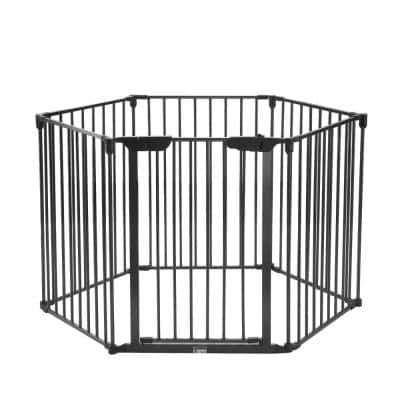 6-Panel 23.4 in. W x 30 in. H Exercise Playpen