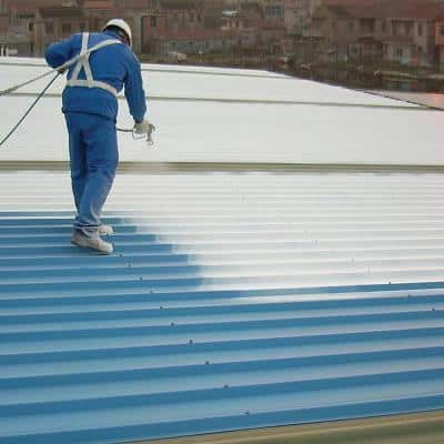 Roof Mate Top Coat 5 Gal. White Acrylic Reflective Elastomeric Roof Coating (15-Year Limited Warranty)